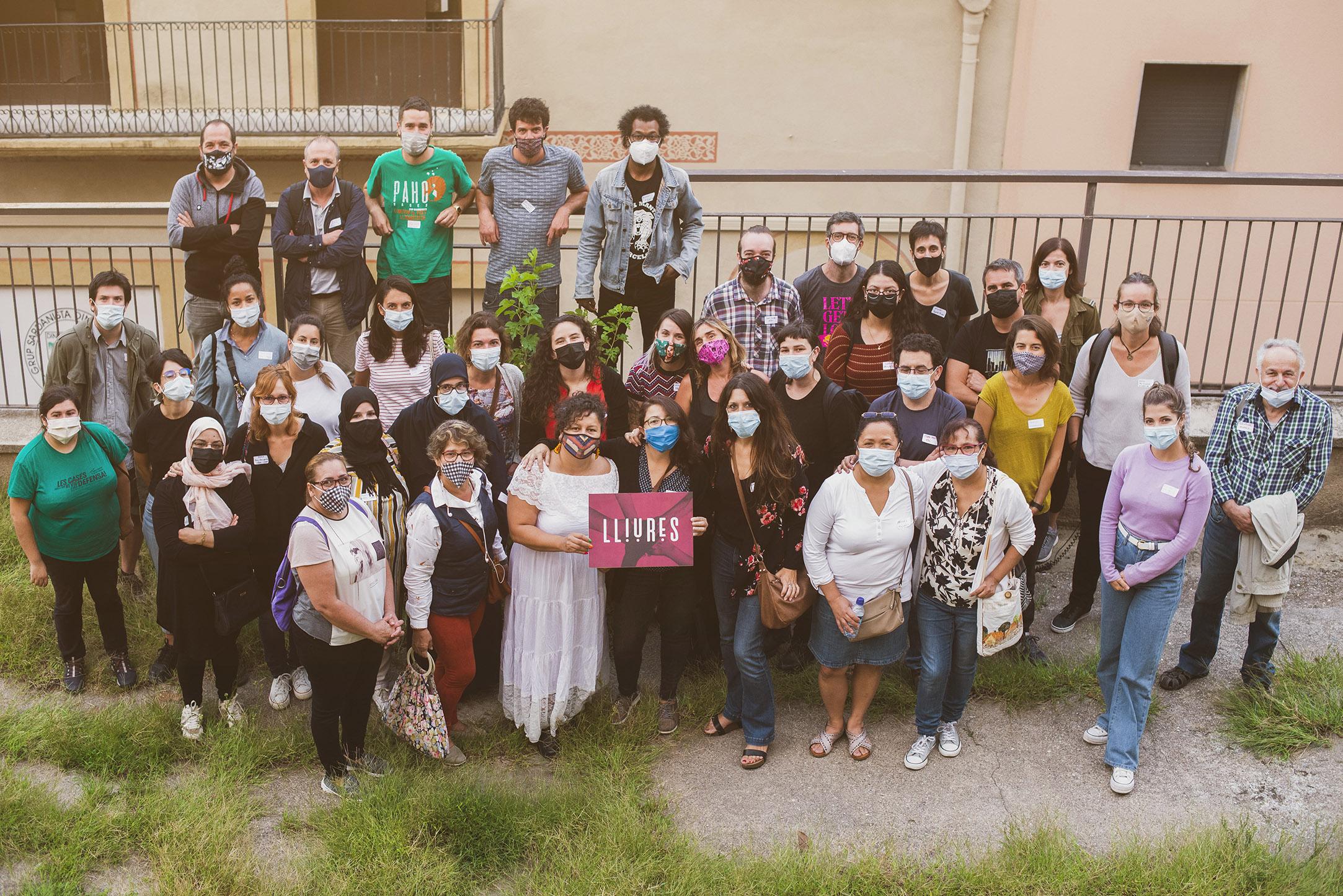 La xarxa de Lliures segueix teixint-se amb la trobada de projectes a Manresa